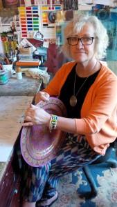 Jane Murphy at work