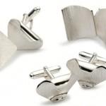 Textured Cufflinks LG