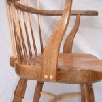 Windsor Chair in Walnut and Sycamore