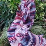 silk batik scarf burgundy 460px