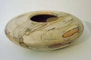 Spalted Beech Enclosed pot