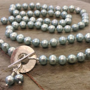 6. Duck egg blue freshwater pearl necklace.smaller